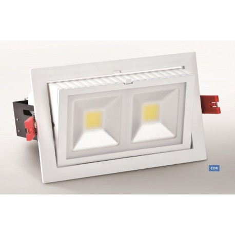 LED Rectangulaire Orientable COB