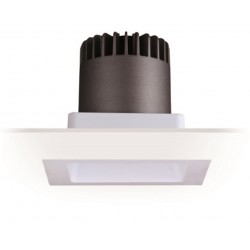 Downlight Led COB Carré 130 x 130 mm