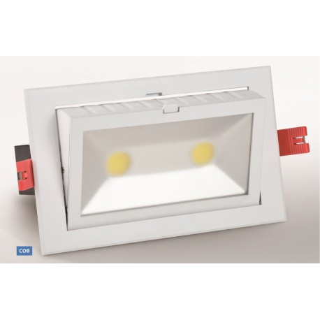 LED Rectangular Adjustable 60 Watts COB