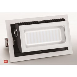 LED Rectangulaire Orientable SMD 245 x 152 mm